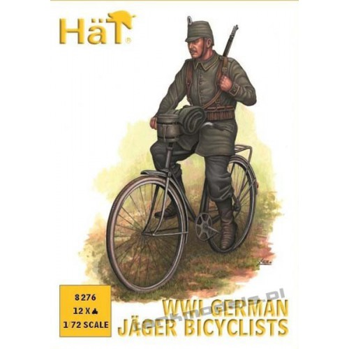 Belgian Carabinier Bicyclists (WWI) - HaT 8275