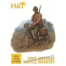 Japanese Bicylicts Infantry (WWII) - HaT 8278