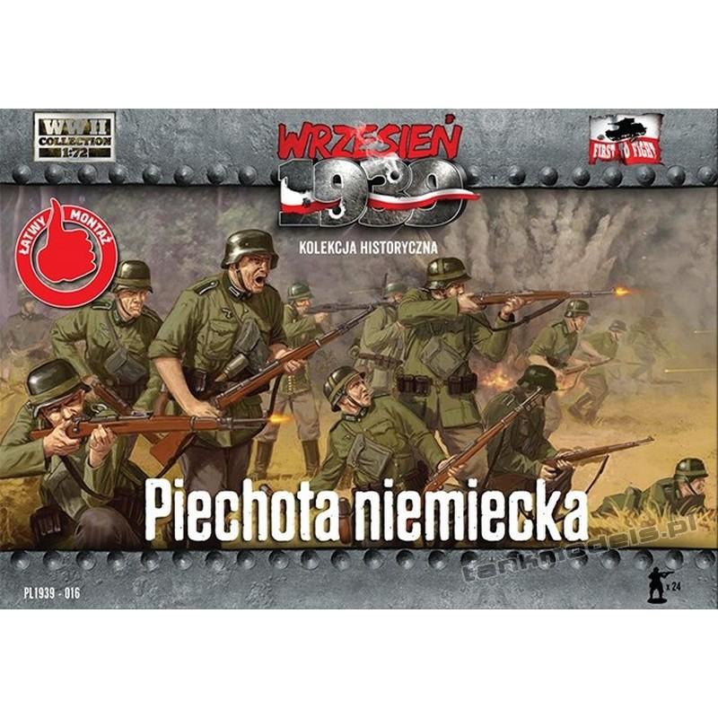 Niemiecka Piechota (1939) - First To Fight PL1939-16
