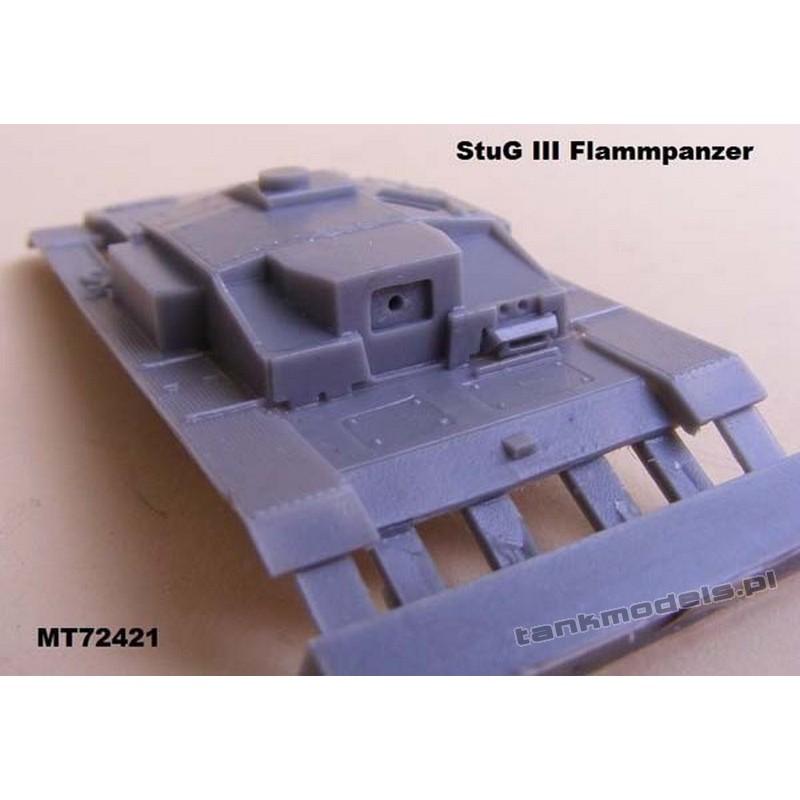 StuG III F8 Flammpanzer (conv.) - Modell Trans MT 72421