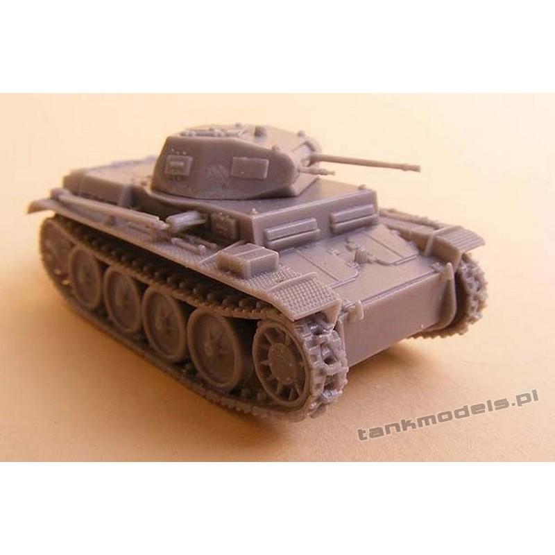 Panzer II Ausf. E - Modell Trans MT 72427