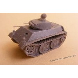 Panzer II Ausf. L V29 (Tatra Prototyp) Panzerwaffe '46 - Modell Trans MT 72429