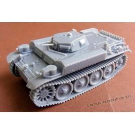 "Panzer II E/D ""Flammingo"" - Modell Trans MT 72430"