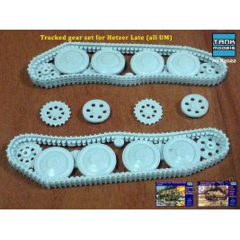 Tracked gear set for Hetzer/Marder Late (for UM) - Tank Models 72022