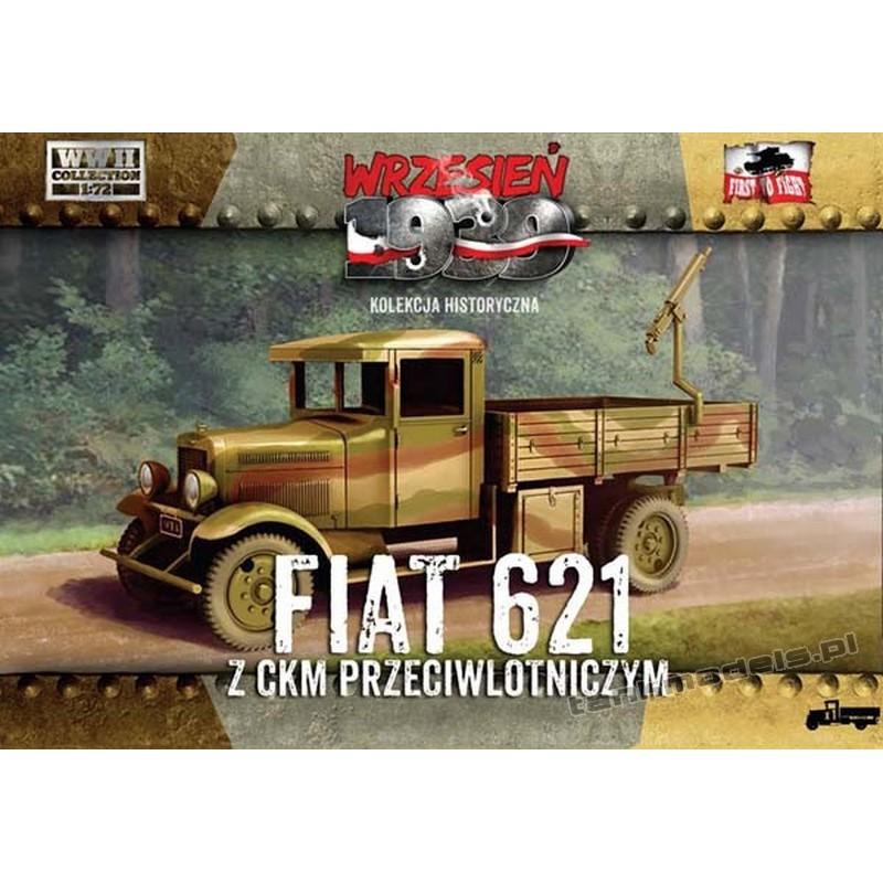 Polish Fiat 621L w/AA machine gun - First To Fight PL1939-17