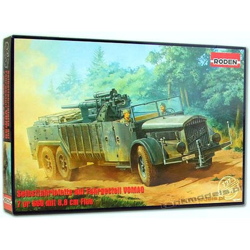 VOMAG 7 or 660 mit 8,8 cm Flak - Roden 727