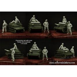 TK-3 crew set - Scibor Miniatures 72HM0026