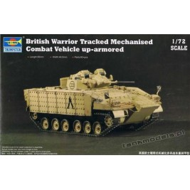 British Warrior Tracked Mechanised Combat Vehicle - Trumpeter 07102