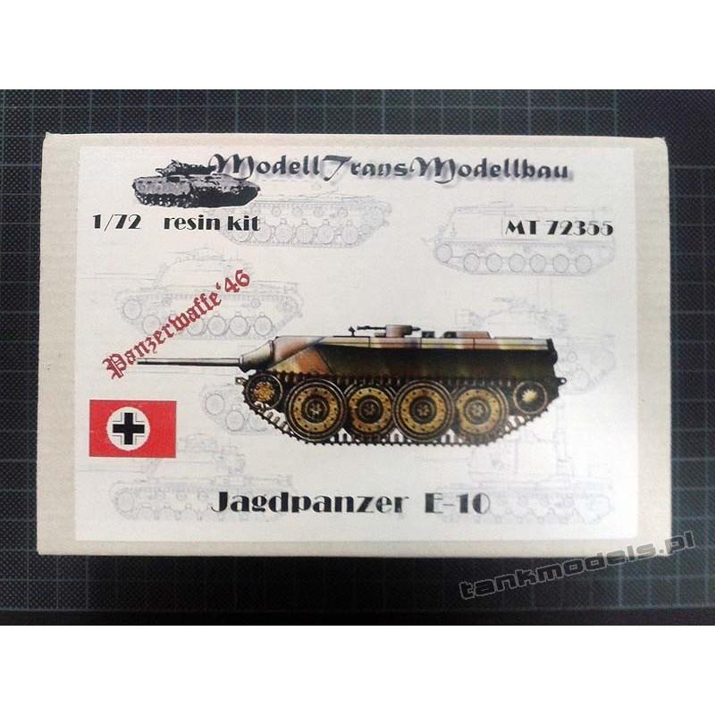 Jagdpanzer E-10 (Panzerwaffe '46) - Modell Trans MT72355