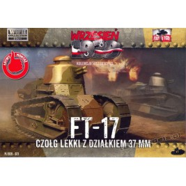 Renault FT-17 z działkiem 37mm - First To Fight PL1939-21