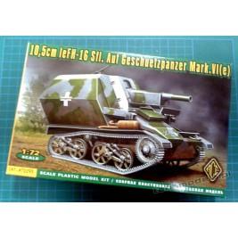 10,5cm leFH-16 Sfl. Auf Geschuetzpaner Mark.VI (e) - ACE 72293