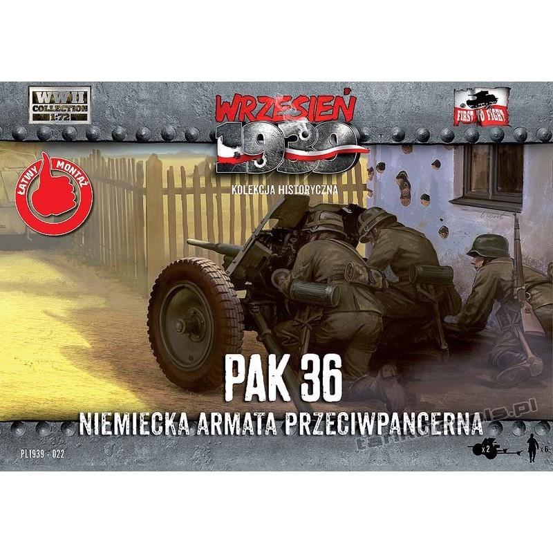 37 mm PaK 36, german AT gun w/crew - First To Fight PL1939-22