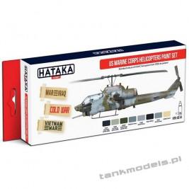 US Marine Corps Helicopters Paint Set - Hataka AS14