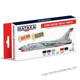 "US Navy and USMC ""high-viz"" Paint Set - Hataka AS18"