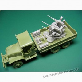 GMC 353 Gun Truck with M55 Multiple - Modell Trans 72433