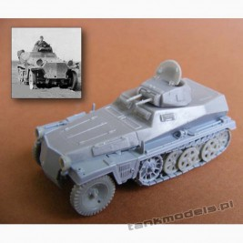 SdKfz 253 with Panzer I turret - Modell Trans 72603