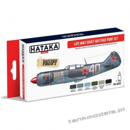 Soviet Air Force Late WW2 paint set - Hataka Hobby AS20