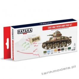 French Army Early WW2 paint set - Hataka Hobby AS21