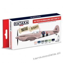 RAF Photo Reconnaissance Units paint set - Hataka Hobby AS23