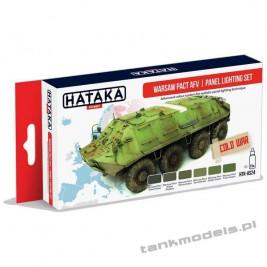 Warsaw Pact AFV (panel lighting set 6x17ml) - Hataka Hobby AS24
