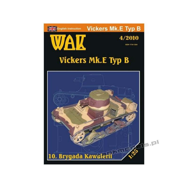 Vickers Mk.E Typ B (10 Bryg. Kawalerii) - WAK 2010/04