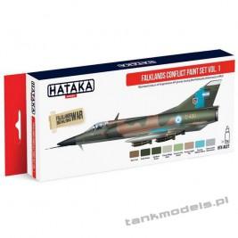 Falklands Conflict vol. 1 (8x17ml) - Hataka Hobby AS27