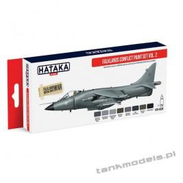 Falklands Conflict vol. 2 (8x17ml) - Hataka Hobby AS28