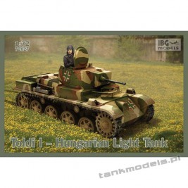 Toldi I Hungarian Light Tank - IBG 72027