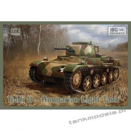 Toldi II Hungarian Light Tank - IBG 72028