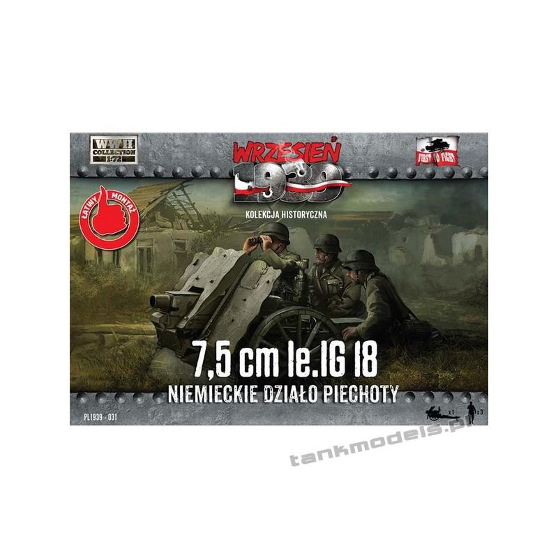 75mm le. IG 18 Niemieckie działo piechoty - First To Fight PL1939-31