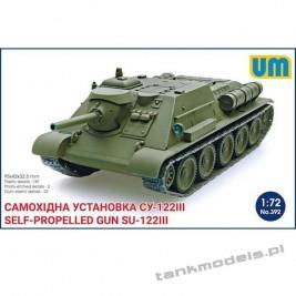 SU-122III Self-propelled Gun - Unimodels 392