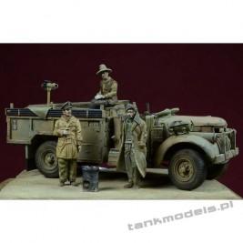 Breakfast in The Sahara - LRDG Patrol - D-Day Miniature 72004