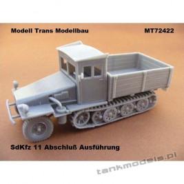 Sd.Kfz.11 Abschluss Ausfürung - Modell Trans 72422