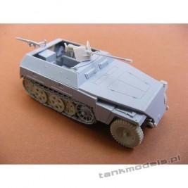 SdKfz 250/1 (neu) with 2 cm Solothurn - Modell Trans 72604
