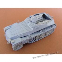 SdKfz 250/6 Ausf B. Munitionsfahrzeug - Modell Trans 72607