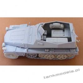 SdKfz 250/6 Ausf A. Munitionsfahrzeug - Modell Trans 72609