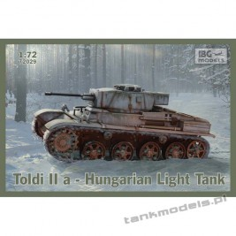 Toldi IIA Hungarian Light Tank - IBG 72029