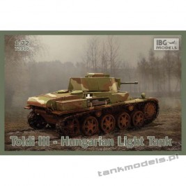 Toldi III Hungarian Light Tank - IBG 72030