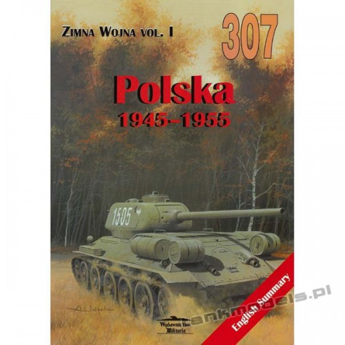 Zimna Wojna vol. I - Polska 1945-1955 - Janusz Ledwoch - Militaria 307