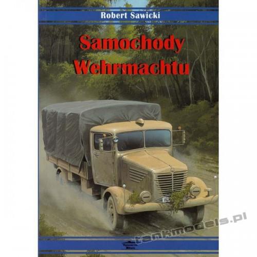 Samochody Wehrmachtu (książka) - Robert Sawicki - Militaria Books