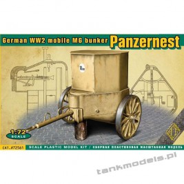 Panzer Nest German WW2 mobile MG bunker - ACE 72561
