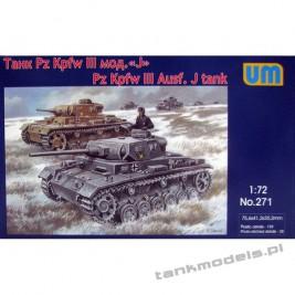 Pz.Kpfw. III Ausf. J - Unimodels 271