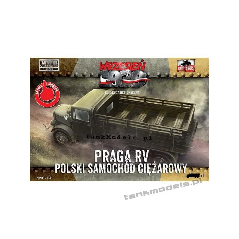 Praga RV Polish army truck - First To Fight PL1939-34