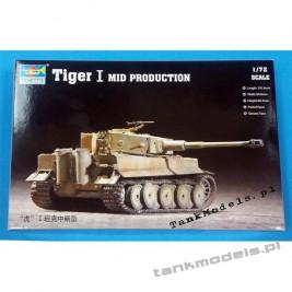 Tiger I Midium - Trumpeter 07243