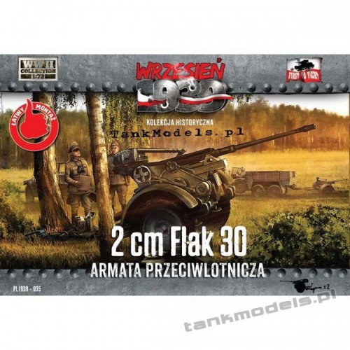 20 mm Flak 30 - First To Fight PL1939-35