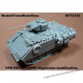 YPR-765 PRCO/PRI Afganistan modification - Modell Trans 72183