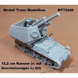 12,2 cm Kanone(r) auf Geschützwagen Lr.S(f) - Modell Trans 72440