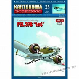 """PZL-37B """"Łoś"""" - Kartonowa Kolekcja 25"""
