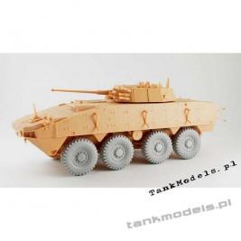 KTO Rosomak koła Michelin typ XZL (IBG) - PanzerArt RE35-401