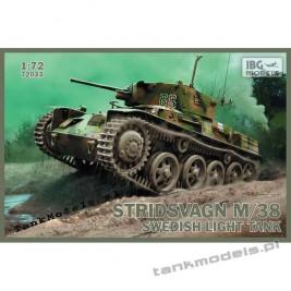 Stridsvagn m/38 Swedish light tank - IBG 72033